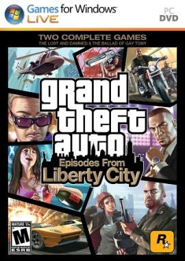 Grand Theft Auto IV - Episodes From Liberty City, купить