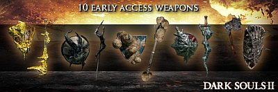 DLC: Black Armor Weapon Pack